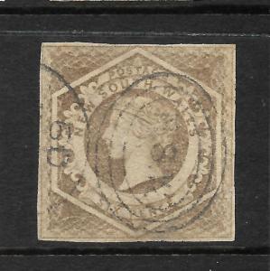 NEW SOUTH WALES 1854-59    6d  GREYISH BROWN   QV   FU SG 96  ...