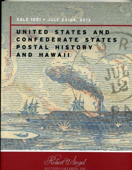 Siegel Sale of US & Confederate states Postal History