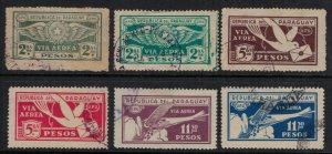Paraguay #C7-12  CV $5.25