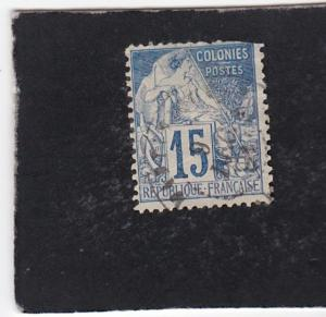 French Colonies #51 used