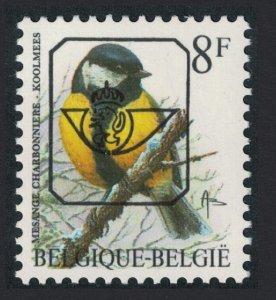 Belgium Great tit Bird Buzin 'Mesange Charbonniere' 8f Precancel Normal paper