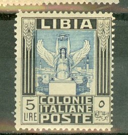 P: Libya 60 mint small tear TR corner CV $150