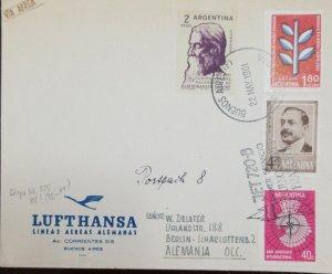 O) 1961 ARGENTINA, RABINDRANATH TAGORE - INDIAN POET, ANTARCTICA - LUIS MARIA