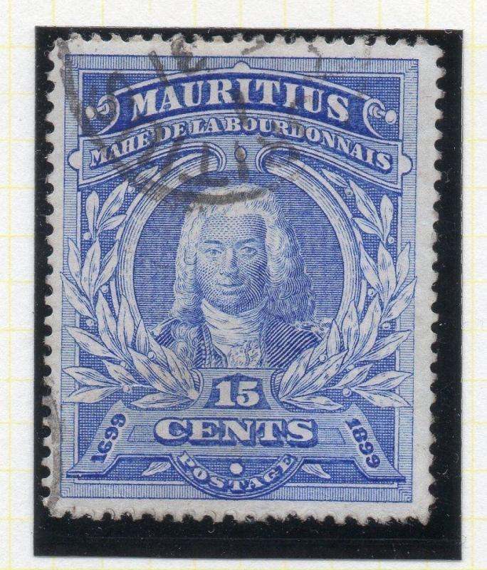 Mauritius 1899 Early Issue Fine Used 15c. 111678