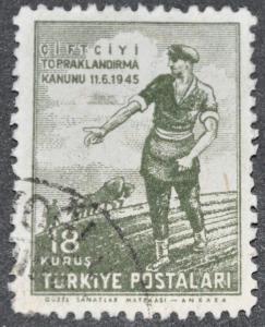 DYNAMITE Stamps: Turkey Scott #945 - USED