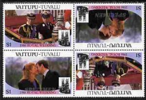 Tuvalu - Vaitupu 1986 Royal Wedding (Andrew & Fergie)...