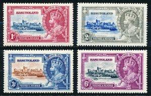Basutoland #11-14  Set of 4 MH
