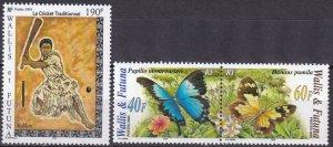 Wallis & Futuna #603-4  MNH CV $6.25  (Z7881)