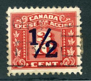 van Dam FX109 - 1/2c on 3/10cThree Leaf Excise Tax - Used - CARIS: CAE 95