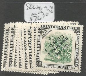 Honduras SC C241-9 MOG (4crz)