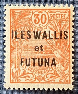 Wallis and Futuna Islands 15 MH (SCV $.60)