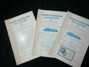 POSTMARKS OF GB & IRELAND DISCOVERIES & NEW INFO - 1 2 & 3 by ALCOCK & HOLLAND