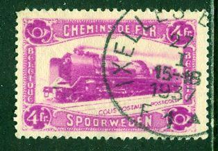 Belgium; 1934: Sc. # Q182: O/Used Single Stamp