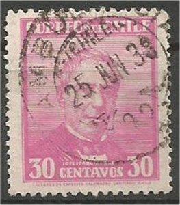 CHILE, 1934  used 30c,Pérez Scott 185