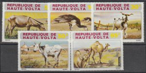 Burkina Faso SC 282-6 Mint Never Hinged