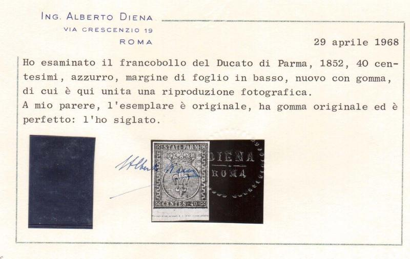 Parma #5 XF Mint Gem **With Certificate**