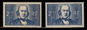 France Scott B89-89A Mint NH (Catalog Value $37.00)