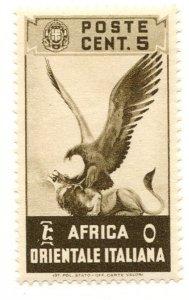 Italian East Africa, Scott #2, Unused, Hinged