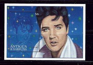 Antigua 1958 MNH 1996 Elvis Presley S/S