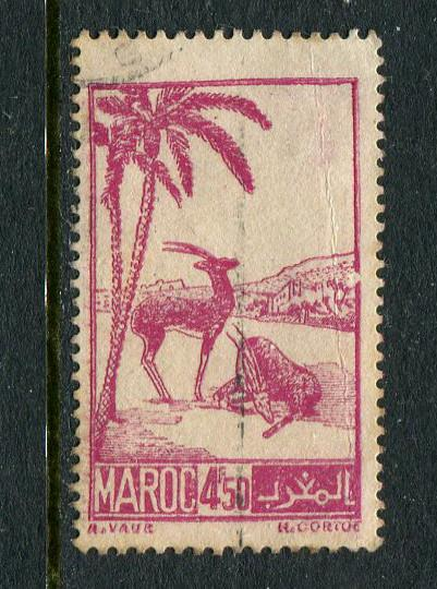 French Morocco #212 Used - penny auction