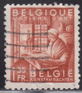 Belgium 376 Industrial Arts 1948