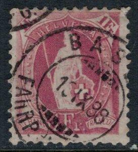 Switzerland #87  CV $7.00