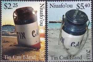 Tonga Niuafo'ou #294-5 MNH CV $7.00 (Z9528)