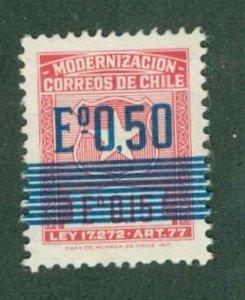 CHILE RA8 MH BIN$ 0.50