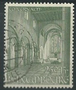 1953 Luxembourg Scott Catalog Number 296 Used