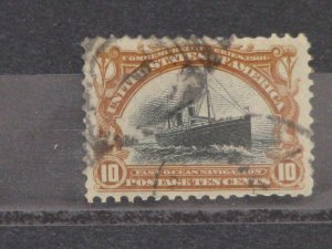 US Pan American Expo Issue, Scott# 299, used