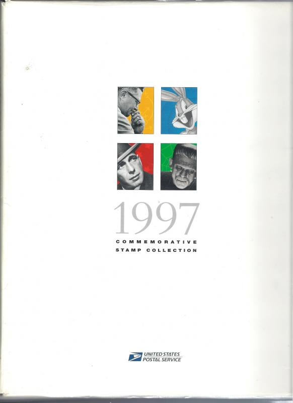 US 1997 Stamp Yearbook hard cover album - No Stamps