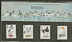 1989 ROYAL SOCIETY FOR THE PROTECTION OF BIRDS PRESENTATION PACK 196