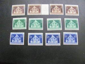 GERMANY 1936 MNH SC# 473/476 LOT (115)