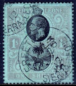 Sierra Leone - Scott #115 - Used - SCV $5.25