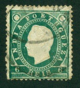 Portuguese India 1886 #176 U SCV (2018) = $1.75