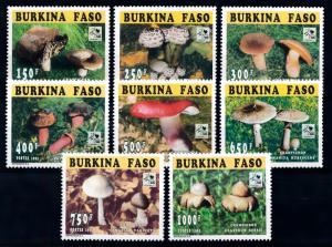 [68870] Burkina Faso 1996 Mushrooms Pilze Champignons Scouting  MNH