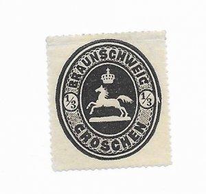 Brunswick #23 MH - Stamp - CAT VALUE $27.50