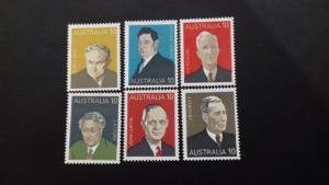 Australia 1975 Prime Ministers of Australia Mint