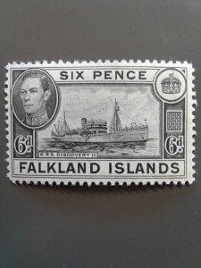 Falkland Islands 102 F-VF MNH. Scott $ 6.75