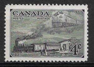 1951 Canada 311 Trains MNH
