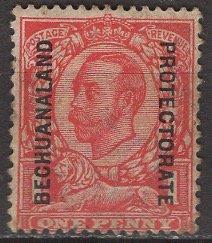 Bechuanaland Protectorate; 1912: Sc. # 82; **/MNH Single Stamp