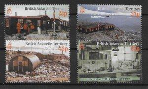 BRITISH ANTARCTIC TERR. SG329/32 2001 PORT LOCKROY RESTORATION MNH
