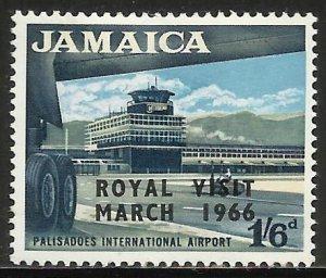 Jamaica 1966 Scott# 251 MH