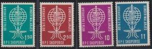 Albania 609-612 MNH (1962)