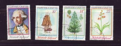 Norfolk Islands Sc 175-8 1974 Cook Discovery stamp set used