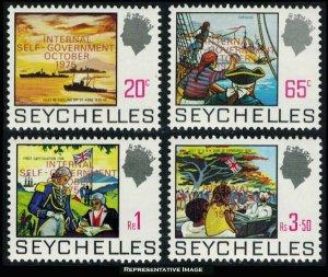 Seychelles Scott 327-330 Mint never hinged.