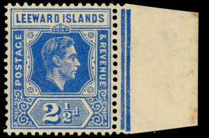 LEEWARD ISLANDS SG105, 2½d brt blue, M MINT. Cat £35.