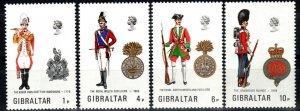 Gibraltar #299-302   MNH CV $6.75 (X1329)
