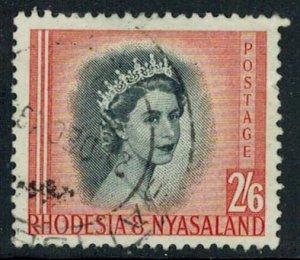 Rhodesia and Nyasaland Scott 152 Used.