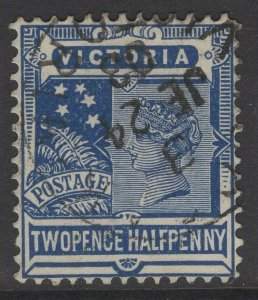 VICTORIA SG388 1901 2½d DULL BLUE USED